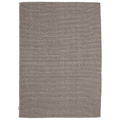 Mantra Modern Wool Rug, 380x280cm, Salt & Pepper