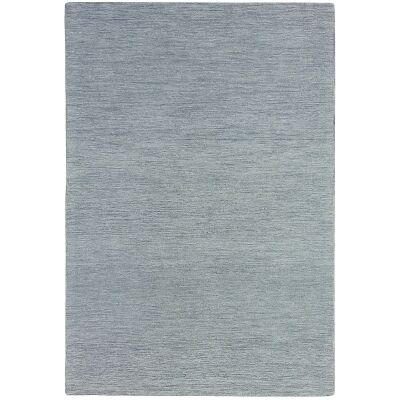 Marled Hand Tufted Wool Rug, 300x400cm, Grey