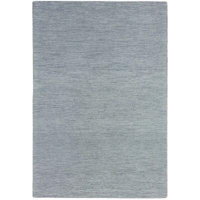 Marled Hand Tufted Wool Rug, 350x450cm, Grey