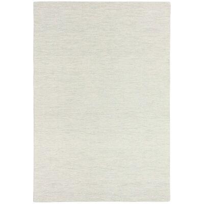 Marled Hand Tufted Wool Rug, 160x230cm, Snow