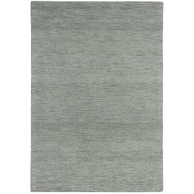 Marled Hand Tufted Wool Rug, 250x350cm, Steel