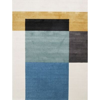 Matisse Colour Block Turkish Made Modern Rug, 160x220cm, Harmony