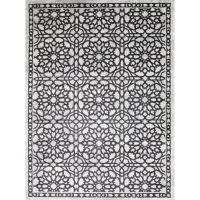 Matisse Carnation Turkish Made Modern Rug, 80x150cm, Charcoal