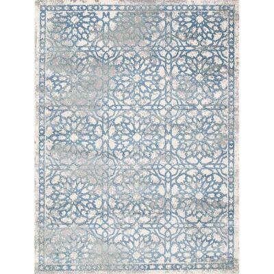 Matisse Carnation Turkish Made Modern Rug, 80x150cm, Blue