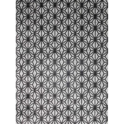 Matisse Pyramid Turkish Made Modern Rug, 200x290cm, Charcoal