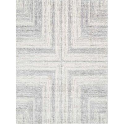 Matisse Cross Turkish Made Modern Rug, 200x290cm, Light Grey