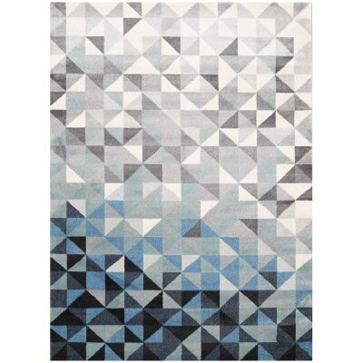 Matisse Triangles Turkish Made Modern Rug, 160x120cm, Summer