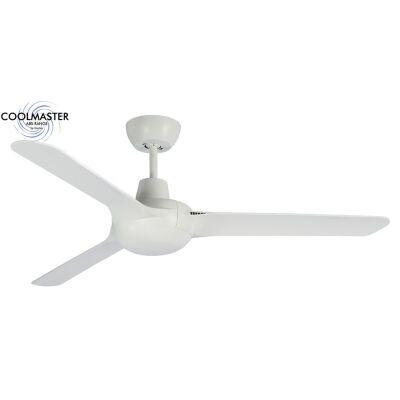 "Martec Cruise Indoor / Outdoor Ceiling Fan, 140cm/56"", White"