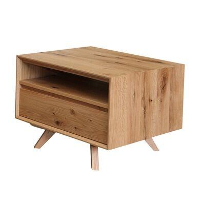 Eklund American White Oak Timber Lamp Table