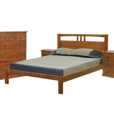 Crestwood Single Bed in Blackwood