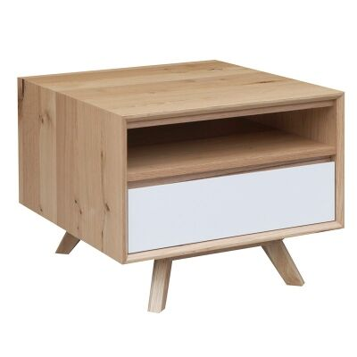 Sibil Wooden Lamp Table
