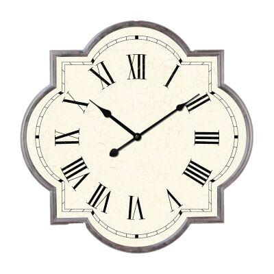 Marrakech Iron Frame Wall Clock, 68cm