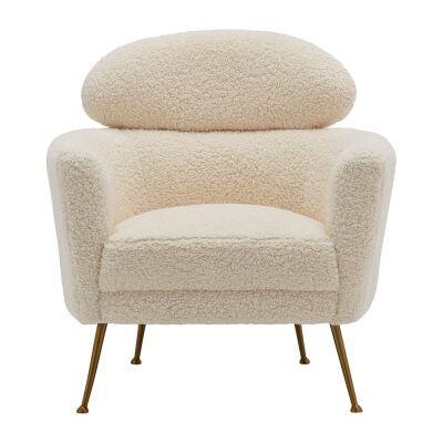 Melissa Faux Fur Armchair