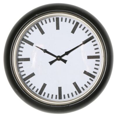 Parry Iron Frame Round Wall Clock, 51cm