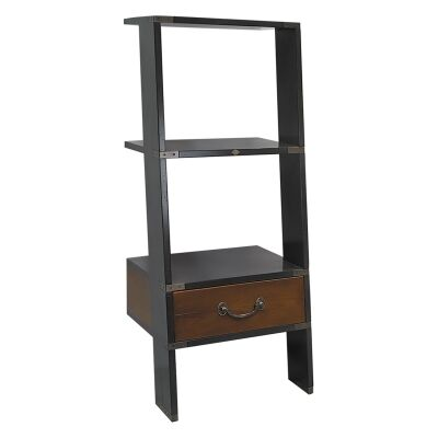 Library Timber Short Ladder Shelf