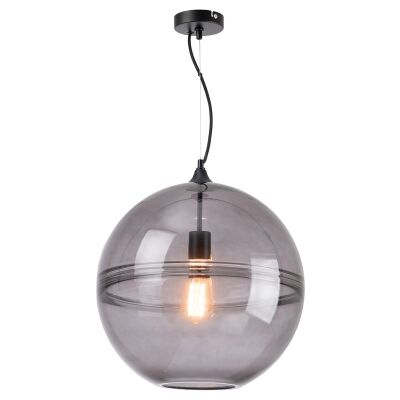 Helena Glass Ball Pendant Light, Large