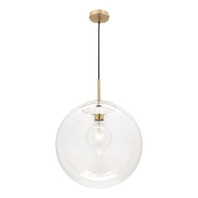 Madrid Glass Shade Pendant Light, Large