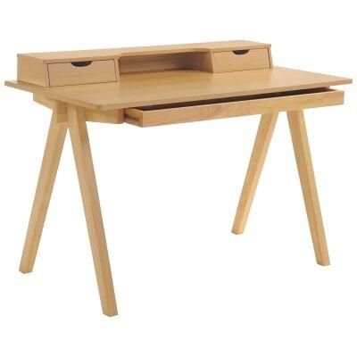 Axel Wooden Modern Secretory Desk, 120cm