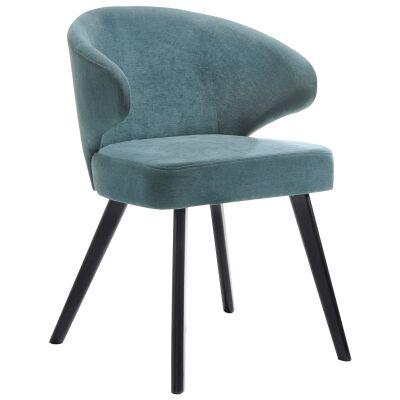 Annika Linen Fabric Dining Chair
