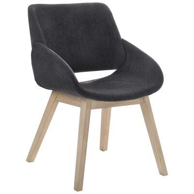 Bela Fabric Dining Armchair