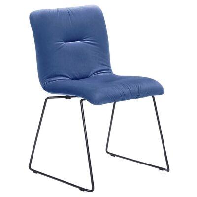Norvin Commercial Grade Velvet Fabric Dining Chair