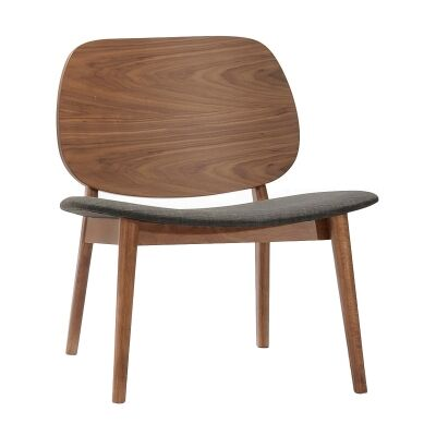 Koa Oak Timber Lounge Chair