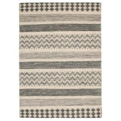 Rhythm Pulse Hand Loomed Wool Rug, 190x280cm