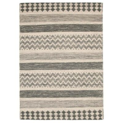 Rhythm Pulse Hand Loomed Wool Rug, 300x400cm