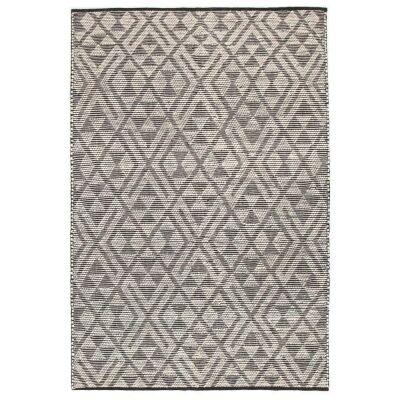 Rhythm Tempo Hand Loomed Wool Rug, 155x225cm