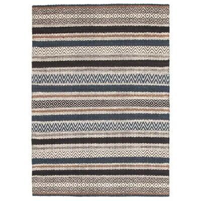 Rhythm Swing Hand Loomed Wool Rug, 190x280cm