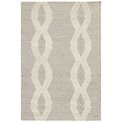 Rhythm Chime Hand Loomed Wool Rug, 190x280cm