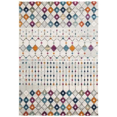 Mirage Peggy Tribal Morrocan Rug, 200x290cm