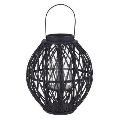Starling Bamboo Rattan Lantern, Small