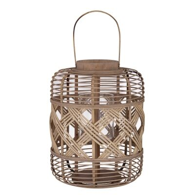 Healey Bamboo Rattan Lantern