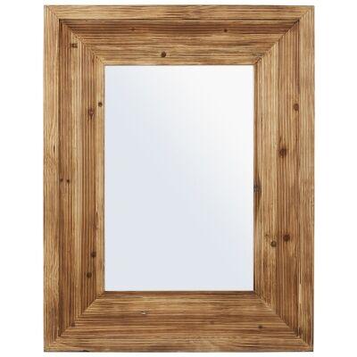 Leighton Fir Wood Frame Wall Mirror, 90cm