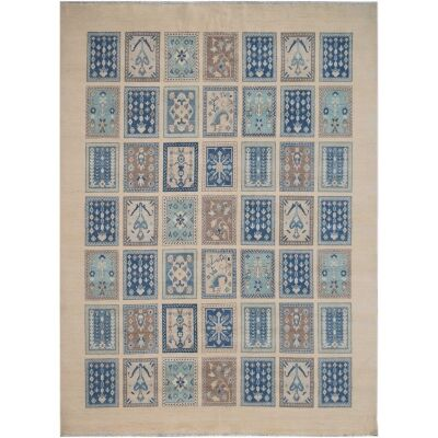 One of A Kind Maisey Hand Knotted Wool Sultan Rug, 301x242cm