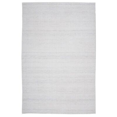 Modena Handmade Wool & Viscose Rug, 230x160cm, Blanc