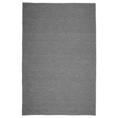 Modena Handmade Wool & Viscose Rug, 230x160cm, Gris