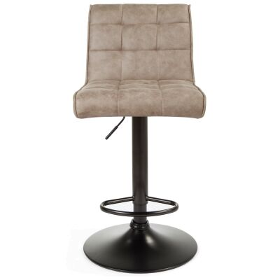 Cheswick Fabric & Metal Gas Lift Counter / Bar Stool, Taupe
