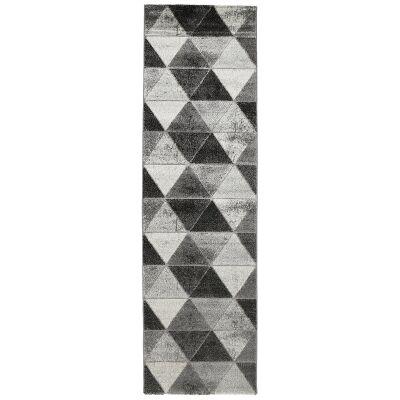 Momo Prism Modern Runner Rug, 300x80cm