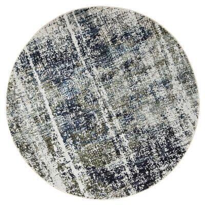 Roman Dillan Mosaic Modern Round Rug, 200cm