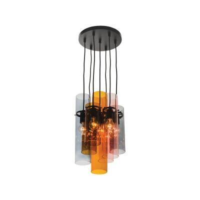 Estelle Glass Cluster Pendant Light, 7 Light
