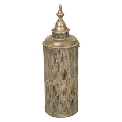 Aladdin Filigree Metal Lantern, Small