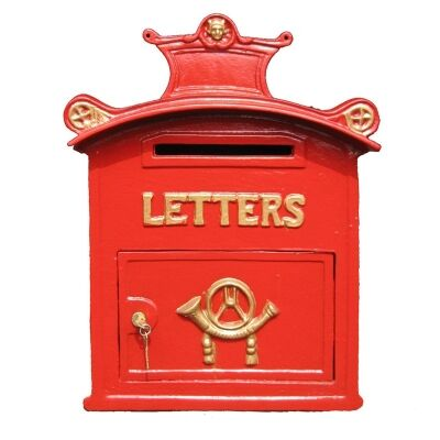 Buckingham Cast Iron Traditional English Letter Box