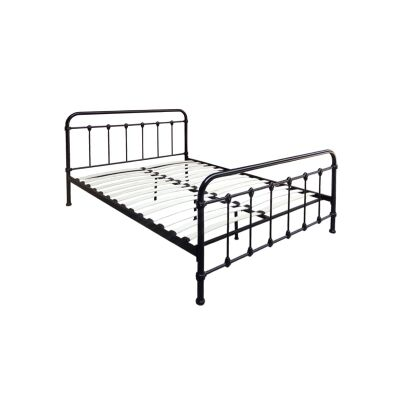 Marley Metal Bed, Queen, Black