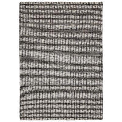 Mist Handwoven Wool Rug, 130x70cm