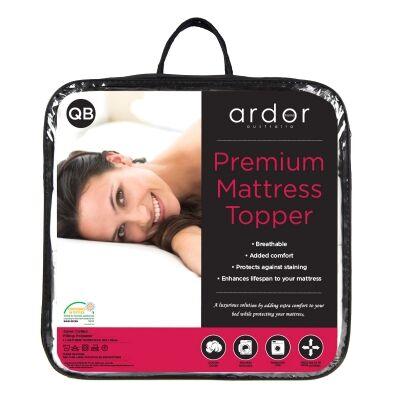 Ardor Premium Cotton Mattress Topper, Double