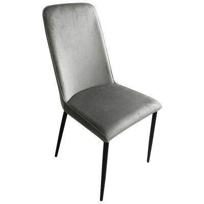 Munich Velvet Fabric Dining Chair
