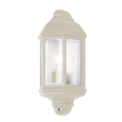 Nepean IP33 Exterior Wall Light, Beige