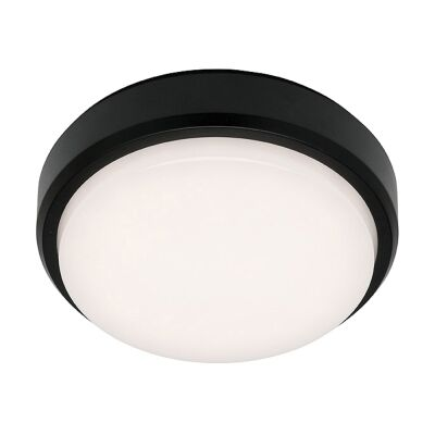 Rory IP54 Colour Changing LED Outdoor Bunker Light, Round